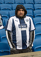 West Bromwich fan<br /> <br /> Photographer David Horton/CameraSport<br /> <br /> Emirates FA Cup Fourth Round - Brighton and Hove Albion v West Bromwich Albion - Saturday 26th January 2019 - The Amex Stadium - Brighton<br />  <br /> World Copyright © 2019 CameraSport. All rights reserved. 43 Linden Ave. Countesthorpe. Leicester. England. LE8 5PG - Tel: +44 (0) 116 277 4147 - admin@camerasport.com - www.camerasport.com