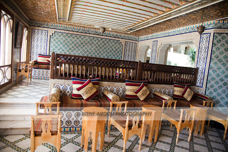 The beautiful Hotel Sofitel Palm Beach in Tozeur, Tunisia is a luxury, deluxe establishment.