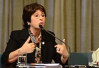 SAO PAULO, 29 DE JUNHO DE 2012 - COLETIVA MARTA SUPLICY -  deputada Ana Rita em coletiva de imprensa que apresentou dados e informações sobre a questão da violência contra a mulher no Estado de São Paulo, na tarde desta sexta feira, na Assembleia Legislativa, regiao sul da capital. FOTO: ALEXANDRE MOREIRA - BRAZIL PHOTO PRESS