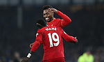 Sadio Mané of Liverpool is congratulated by Daniel Sturridge of Liverpool during the English Premier League match at Goodison Park, Liverpool. Picture date: December 19th, 2016. Photo credit should read: Lynne Cameron/Sportimage