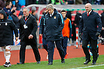 Dejection for Manchester City manager Manuel Pellegrini at the end of the game - Football - Barclays Premier League - Stoke City vs Manchester City - Britannia Stadium Stoke - December 5th 2015 - Season 2015/2016 - Photo Malcolm Couzens/Sportimage