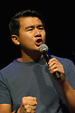 Edinburgh, UK. 31.07.2013. The Underbelly launches its Fringe programme of events to the press. Picture shows:  Comedian, Ronny Chieng. Photograph © Jane Hobson.