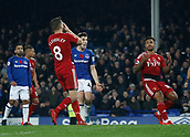5th November 2017, Goodison Park, Liverpool, England; EPL Premier League Football, Everton versus Watford; Tom Cleverley of Watford holds his head in his hands after he misses a penalty in added time that would have levelled the scores at 3-3