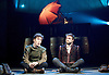 Rosencrantz &amp; Guildenstern Are Dead <br /> by Tom Stoppard <br /> at The Old Vic, London, Great Britain <br /> press photocall <br /> 3rd March 2016 <br /> EMBARGOED UNTIL 12 NOON ON MONDAY 6TH MARCH 2017 <br /> <br /> <br /> Josh McGuire as Guildenstern <br /> Daniel Radcliffe as Rosencrantz <br /> <br /> <br /> <br /> <br /> Photograph by Elliott Franks <br /> Image licensed to Elliott Franks Photography Services