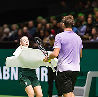 Rotterdam, The Netherlands, 17 Februari 2019, ABNAMRO World Tennis Tournament, Ahoy, Final, Stan Wawrinka (SUI),<br /> Photo: www.tennisimages.com/Henk Koster