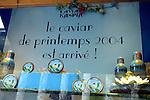 PARIS - FRANCE - 15 APRIL 2004--The Caviar Kaspia house on Place de la Madeleine.-- PHOTO: ERIK LUNTANG / EUP-IMAGES