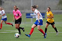 National Women's League - Capital v Auckland at Petone Memorial Park, Lower Hutt, New Zealand on Sunday 29 September 2019. <br /> Photo by Masanori Udagawa. <br /> www.photowellington.photoshelter.com