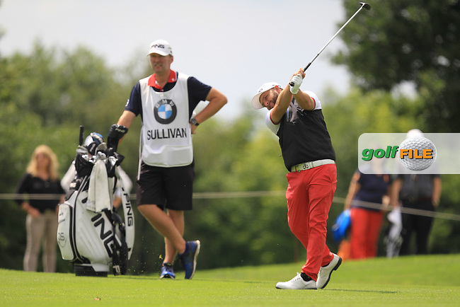 Andy Sullivan (ENG) on the 13th during Round 4 of the 2016 BMW International Open at the Golf Club Gut Laerchenhof in Pulheim, Germany on Sunday 26/06/16.<br /> Picture: Thos Caffrey | Golffile