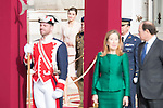 Queen Letizia during state visit of the president of Argentinian Republic, Sr. Mauricio Macri and Sra Juliana Awada at Real Palace in Madrid, Spain. February 19, 2017. (ALTERPHOTOS/BorjaB.Hojas)