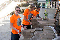 LA Community Garden Council at Aldama Elementary School in Los Angeles.<br />