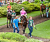 Makayla's Angel before The Delaware Oaks (gr 2) at Delaware Park on 7/13/13