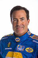 Jan 10, 2017; Brownsburg, IN, USA; NHRA funny car driver Ron Capps poses for a portrait during a photo shoot at Don Schumacher Racing. Mandatory Credit: Mark J. Rebilas-USA TODAY Sports