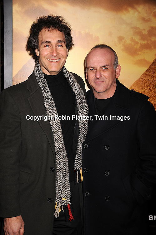 """Doug Liman, the director and Lucas Foster.arriving at The New York Premiere of """"Jumper"""" on     February 11, 2008 at The Ziegfeld Theatre in New York City. the movie stars Hayden Christensen, Rachel Bilson, .AnnaSophia Robb, Jamie Bell,Michael Rooker, Teddy Dunn and Samuel L Jackson...Robin Platzer, Twin Images..212-935-0770"""