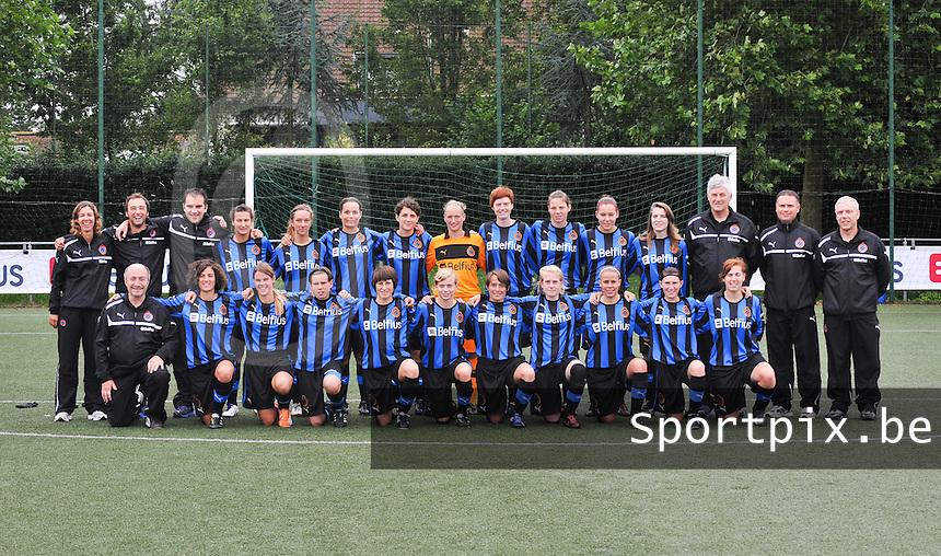 Club Brugge Dames : ploegfoto.foto VDB / David Catry