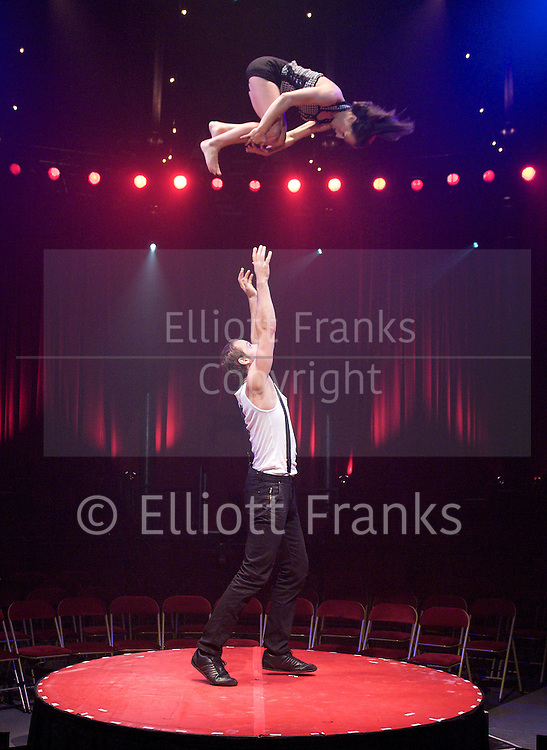 La Soiree<br /> at The Roundhouse, London, Great Britain <br /> press photocall<br /> 24th November 2011 <br /> <br /> Chris Iris<br /> <br /> Photograph by Elliott Franks