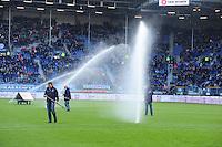 VOETBAL: HEERENVEEN: Abe Lenstra Stadion, SC Heerenveen - Vitesse, 21-01-2012, Eindstand 1-1, Sproei-installatie, ©foto Martin de Jong