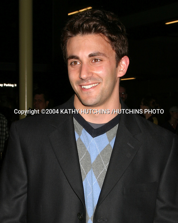 "©2004 KATHY HUTCHINS /HUTCHINS PHOTO.PREMIERE OF ""SHADE"".LOS ANGELES, CA.APRIL 5, 2004..JASON CERBONE"