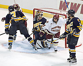 Rob LaLonde, Brock Bradford, Jeff Healey, Nathan Gerbe, Jeff Royston - Boston College defeated Merrimack College 3-0 with Tim Filangieri's first two collegiate goals on November 26, 2005 at Kelley Rink/Conte Forum in Chestnut Hill, MA.