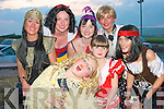 Enjoying the fancy dress in aid of the Irish Heart Foundation at the Thatch bar on Saturday evening were Danny and Elane McElligott, Lixnaw, Key and Sue Galvin, Limerick, Helen Flavin Waterford, Helen Flavin, Ballylongford and John Murphy, Galway...   Copyright Kerry's Eye 2008