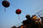 Paper lanterns. Hoi An, Vietnam. April 15, 2016.