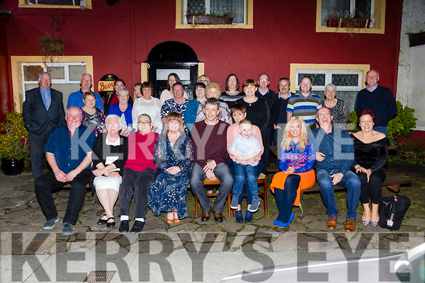 William McCutcheon, Tyrone and Joanne Walsh, Tralee celebrate their Engagement at the Munster Bar on Saturday with family and Friends