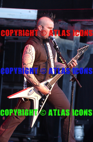 Queensryche;  Parker Lundgren; Live, In New York City, On 6-17-2005<br /> Photo Credit: Eddie Malluk/Atlas Icons.com