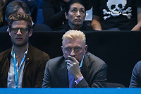 Boris Becker during the NiTTO ATP World Tour 2017 FINAL's Day at the O2, London, England on 19 November 2017. Photo by Andy Rowland.