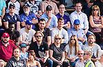 V&auml;llingby 2014-07-06 Fotboll Allsvenskan IF Brommapojkarna - Malm&ouml; FF :  <br /> Brommapojkarnas skadade spelare Mauricio Albornoz sitter p&aring;  l&auml;ktaren under matchen<br /> (Foto: Kenta J&ouml;nsson) Nyckelord:  BP Brommapojkarna IFB Grimsta Malm&ouml; MFF supporter fans publik supporters skada skadan ont sm&auml;rta injury pain