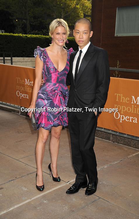 Julie Macklowe and Jason Wu