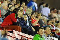 Tuesday, 7 May 2013<br /> <br /> Pictured: Fans<br /> <br /> Re: Barclays Premier League Wigan Athletic v Swansea City FC  at the DW Stadium, Wigan