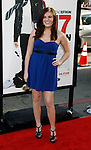 """HOLLYWOOD, CA. - April 14: Courtney Fleming arrives at the premiere of Warner Bros. """"17 Again"""" held at Grauman's Chinese Theatre on April 14, 2009 in Hollywood, California."""