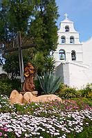 Mission Basilica San Diego de Alcala, San Diego, California