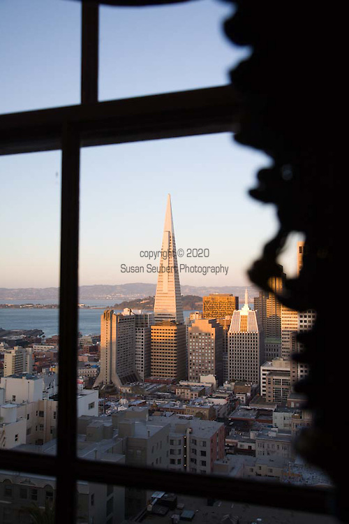 The view from the Fairmont Hotel's Penhouse Suite's terrace.