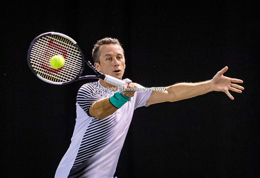 Rotterdam, The Netherlands, 9 Februari 2020, ABNAMRO World Tennis Tournament, Ahoy, Qualyfying round: Philipp Kohlschreiber (GER)<br /> Photo: www.tennisimages.com