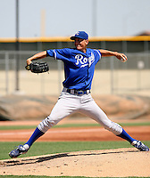 Michael Montgomery / AZL Royals..Photo by:  Bill Mitchell/Four Seam Images
