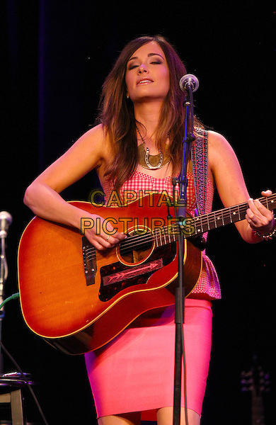 03 April 2014 - Las Vegas, Nevada -  Kacey Musgraves. 95.5 The Bull&rsquo;s 6th Annual All-Star Guitar Pull at the Red Rock Ballroom inside Red Rock Resort.  <br /> CAP/ADM/MJT<br /> &copy; MJT/AdMedia/Capital Pictures