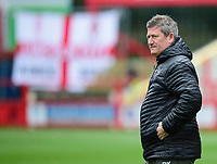 Lincoln City's assistant manager David Kerslake during the pre-match warm-up<br /> <br /> Photographer Andrew Vaughan/CameraSport<br /> <br /> The EFL Sky Bet League One - Accrington Stanley v Lincoln City - Saturday 15th February 2020 - Crown Ground - Accrington<br /> <br /> World Copyright © 2020 CameraSport. All rights reserved. 43 Linden Ave. Countesthorpe. Leicester. England. LE8 5PG - Tel: +44 (0) 116 277 4147 - admin@camerasport.com - www.camerasport.com
