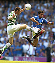 20/08/2005         Copyright Pic : James Stewart.File Name : jspa26 rangers v celtic.STEPHEN MCMANUS AND NACHO NOVO CHALLENGE FOR THE BALL.....Payments to :.James Stewart Photo Agency 19 Carronlea Drive, Falkirk. FK2 8DN      Vat Reg No. 607 6932 25.Office     : +44 (0)1324 570906     .Mobile   : +44 (0)7721 416997.Fax         : +44 (0)1324 570906.E-mail  :  jim@jspa.co.uk.If you require further information then contact Jim Stewart on any of the numbers above.........