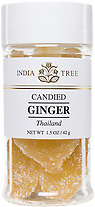 30906 Candied Thai Ginger, Small Jar 1.5 oz