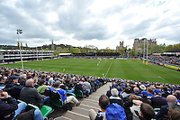 A general view of the Recreation Ground during the match. Aviva Premiership match, between Bath Rugby and Worcester Warriors on April 19, 2014 at the Recreation Ground in Bath, England. Photo by: Patrick Khachfe / Onside Images