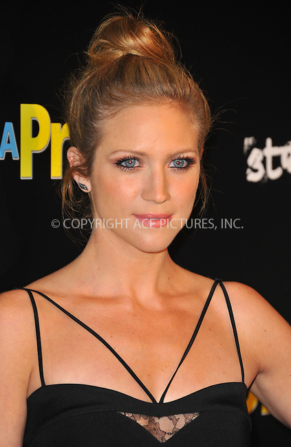 WWW.ACEPIXS.COM<br /> <br /> April 7, 2015, LA<br /> <br /> Brittany Snow arriving at the 'Dial A Prayer' premiere at the Landmark Theater on April 7, 2015 in Los Angeles, California.<br /> <br /> By Line: Peter West/ACE Pictures<br /> <br /> <br /> ACE Pictures, Inc.<br /> tel: 646 769 0430<br /> Email: info@acepixs.com<br /> www.acepixs.com