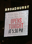 """during the Broadway Opening Night performance curtain call bows for """"The Front Page""""  at the Broadhurst Theatre on October 20, 2016 in New York City."""