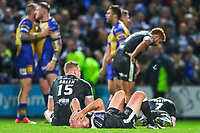 Picture by Alex Whitehead/SWpix.com - 29/09/2017 - Rugby League - Betfred Super League Semi-Final - Leeds Rhinos v Hull FC - Headingley Carnegie Stadium, Leeds, England - Hull FC's Danny Houghton lays dejected after the defeat.