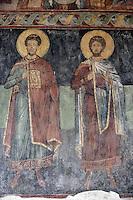 BG61214.JPG BULGARIA, BLACK SEA COAST, NESSEBAR, CHURCH OF ST STEPHAN, 10TH CENTURY, FRESCOS