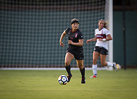 STANFORD, CA - August 10, 2018: Jaye Boissiere at Laird Q. Cagan Stadium. The Stanford Cardinal defeated the Fresno State Bulldogs 4-0.