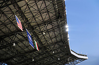 A general view of the roof of the Loftus Versfeld Stadium. Italy defeated USA 3-1 during the FIFA Confederations Cup at Loftus Versfeld Stadium, in Tshwane/Pretoria South Africa on June 15, 2009.