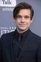 11 January 2018 - Santa Monica, California - Jason Ralph. 23rd Annual Critics' Choice Awards held at Barker Hangar. <br /> CAP/ADM/BT<br /> &copy;BT/ADM/Capital Pictures