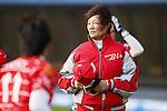 Reika Utsugi (Bee Queen), APRIL 17, 2016 - Softball : 49th Japan Women's Softball League between Bic Camera Bee Queen 7-1 Honda Reverta at QVC Marine Field, Chiba, Japan. (Photo by Yusuke Nakanishi/AFLO SPORT)