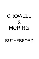Crowell & Moring RUTHERFORD