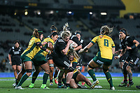Phillipa Love in action during the Laurie O'Reilly Memorial Trophy international women's rugby match between the New Zealand Black Ferns and Australia Wallaroos at Eden Park in Auckland, New Zealand on Saturday 25 August 2018. Photo: Simon Watts / lintottphoto.co.nz